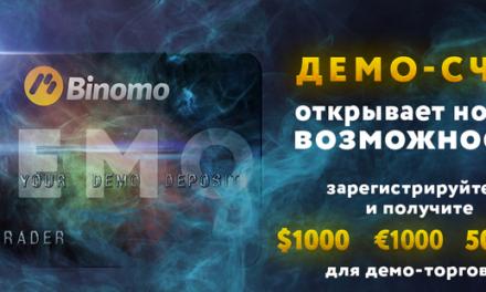 Демо счет от Binomo – отличная возможность научиться торговать бинарными опционами.
