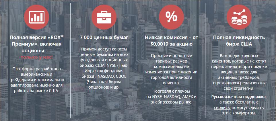 Торговая платформа ROX описание