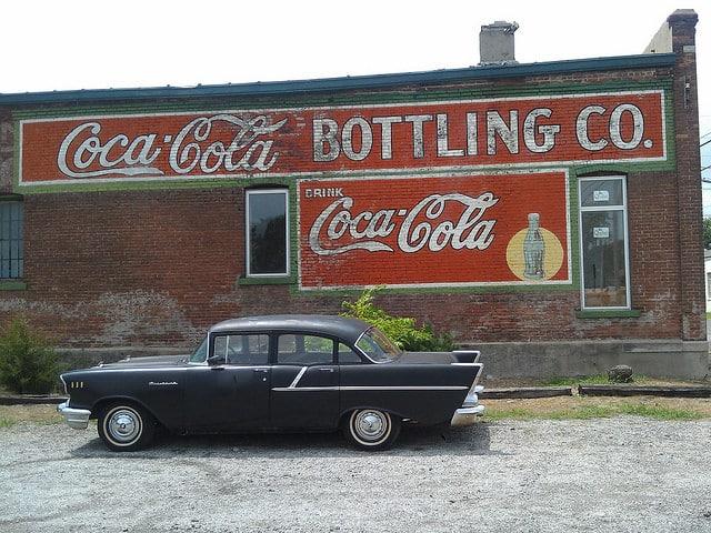 coca cola история