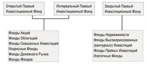 пиф структура
