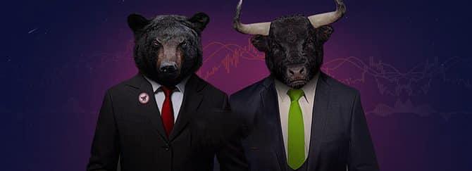 бычье и медвежье поглощение