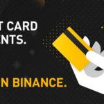 Binance теперь принимает депозиты с карт VISA и Mastercard